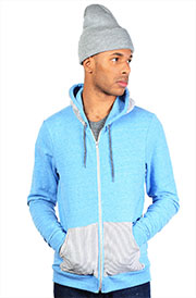 bella canvas tri blend zip hoody