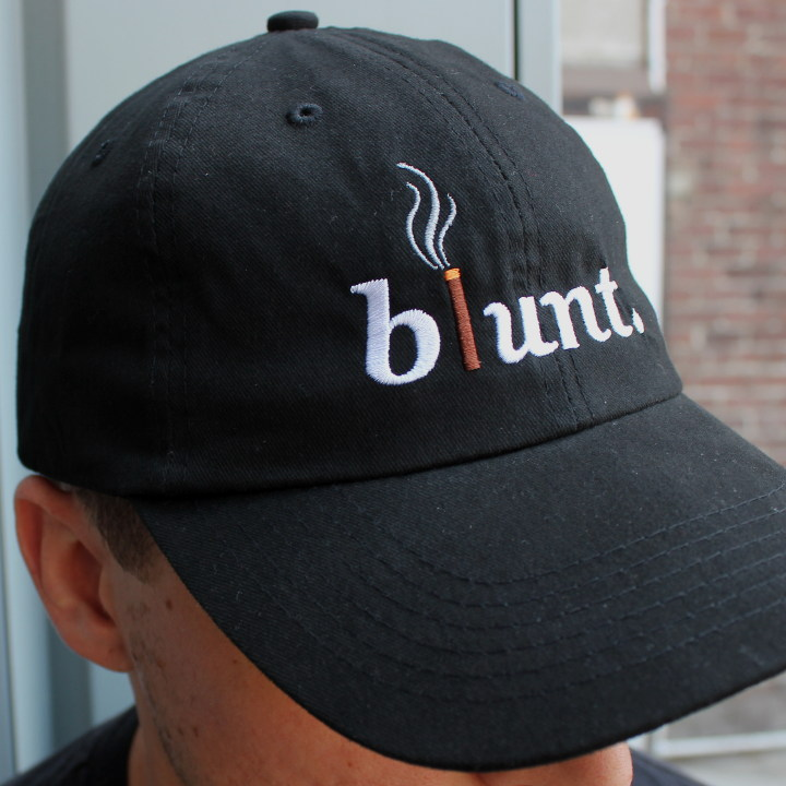 dad hat with custom embroidery